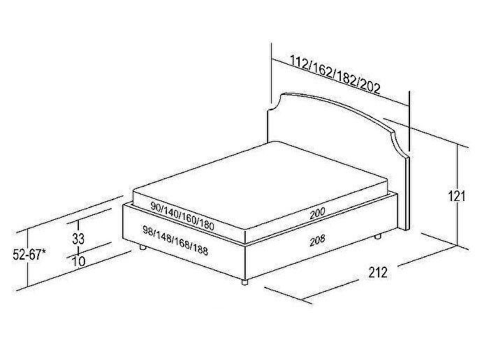 Кровать Классик Беллона