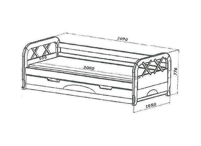 Кровать Классик Утро