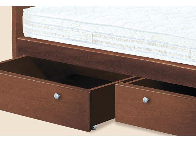 Кровать Классик Утро 2 венге