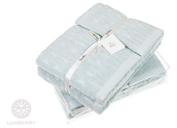 Набор полотенец Luxberry Imperio голубая глина