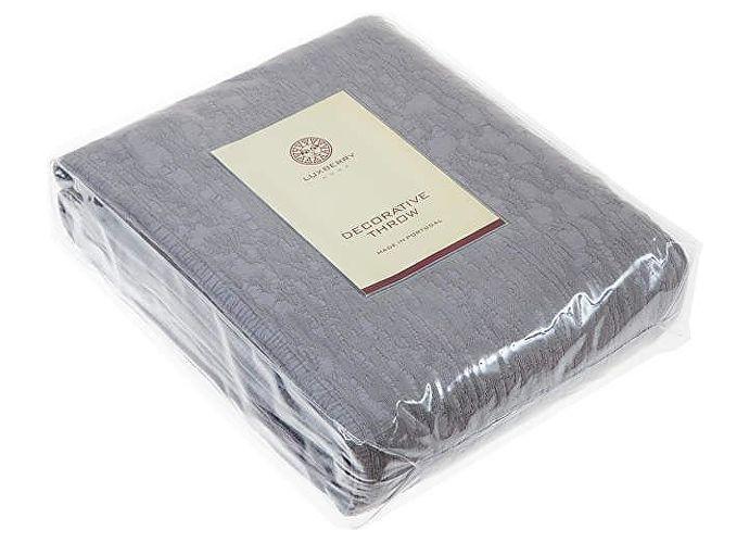 Покрывало Luxberry Velvet серый