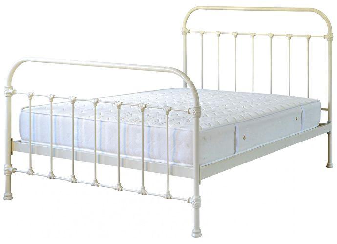 Кровать Полина (2 спинки) Dream Master Слоновая кость глянцевая