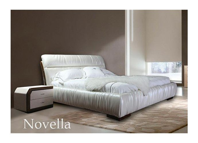Кровать Татами Novella L008 (белый блестящий)