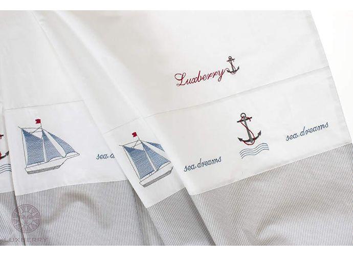 Детское постельное белье Luxberry Sea dreams, простыня без резинки