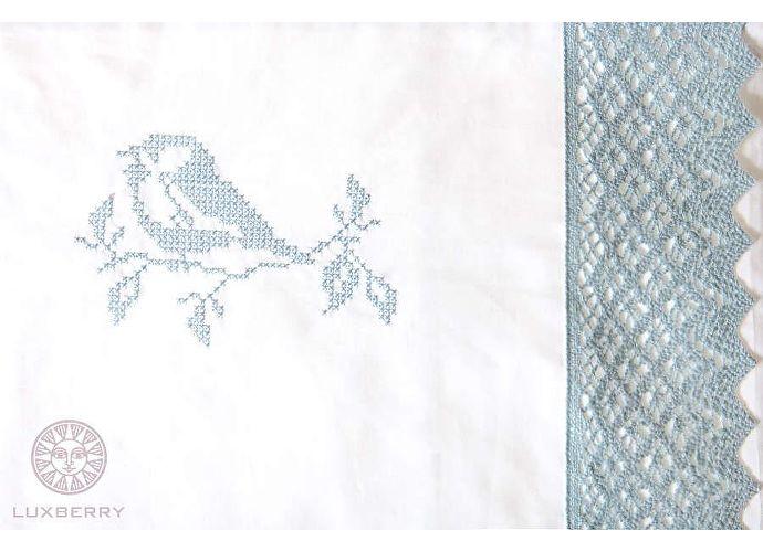 Десткое постельное белье Luxberry Синички