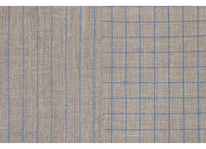 Набор кухонных полотенец Luxberry Timeless maxi натуральный/синий