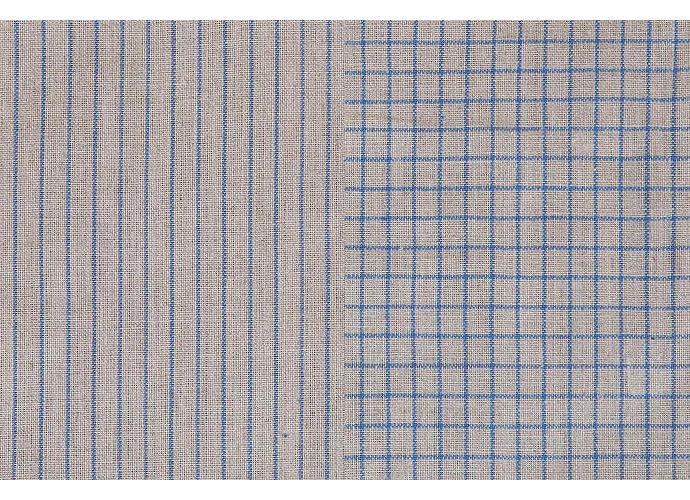Набор кухонных полотенец Luxberry Timeless mini натуральный/синий