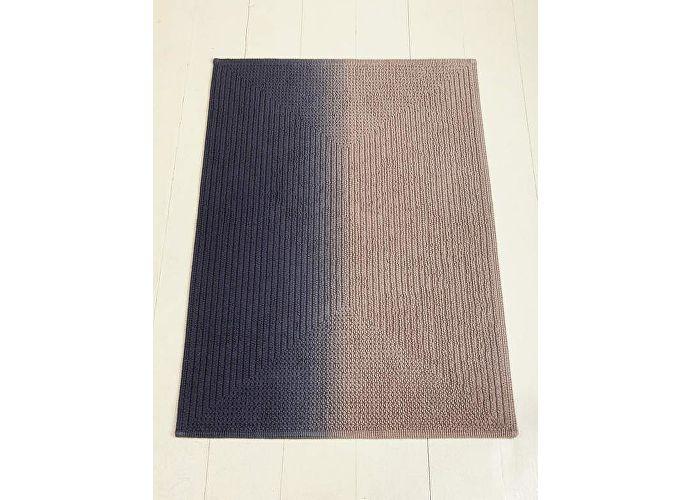 Коврик Luxberry Art, 70х120 см бежевый/индиго