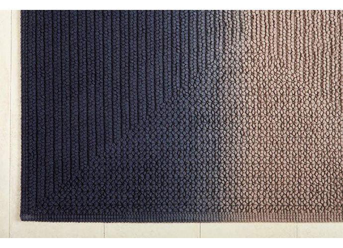 Коврик Luxberry Art, 55х75 см бежевый/индиго