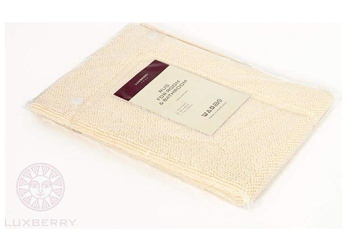 Коврик Luxberry Lux, 55х75 см светло-желтый