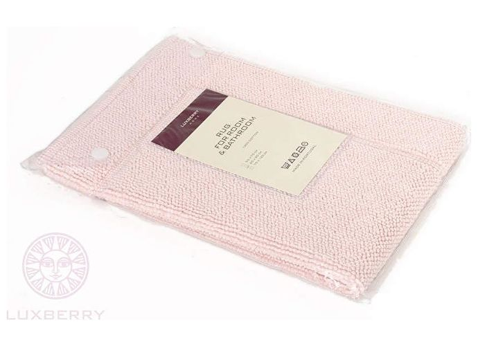Коврик Luxberry Lux, 70х120 см светло-розовый