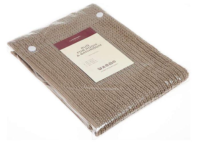 Коврик Luxberry Soft, 65х90 см коричневый