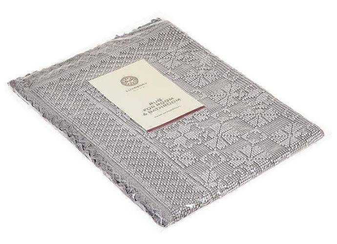 Коврик Luxberry Vintage 2, 70х100 см светло-серый