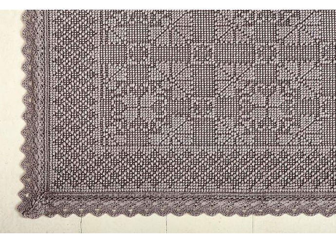 Коврик Luxberry Vintage 2, 70х100 см мокко