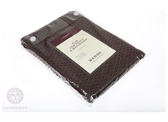 Коврик Luxberry Коко, 65х90 см шоколадный