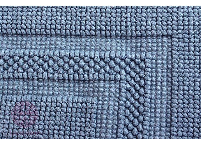 Универсальный коврик Luxberry, 55х75 см голубой