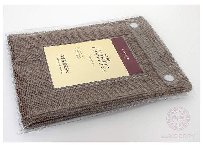 Универсальный коврик Luxberry, 65х90 см табачный