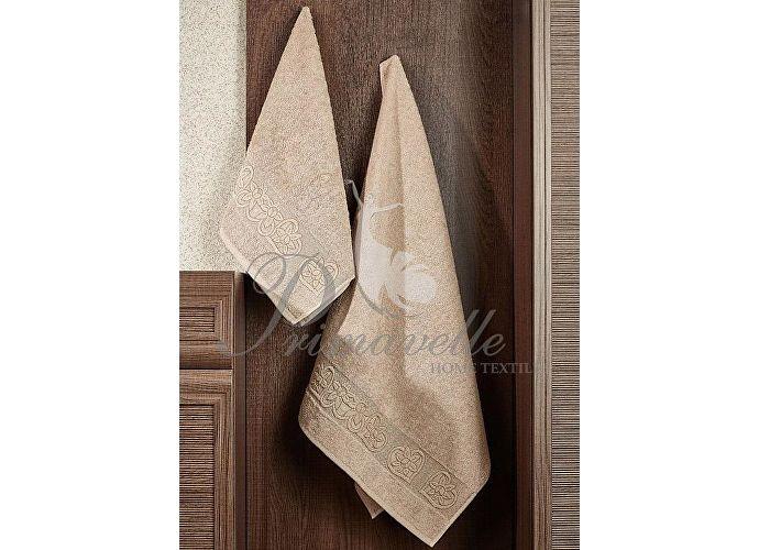 Набор полотенец Primavelle Deni, 50x90 (2 шт.) светло-коричневый