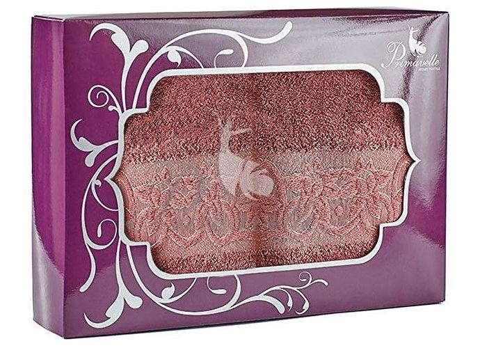 Набор полотенец Primavelle Deni, 50x90 (2 шт.) ягодный