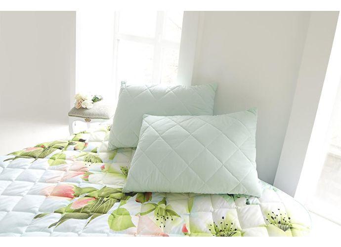 Покрывало Natures Яркие цветы с подушкой