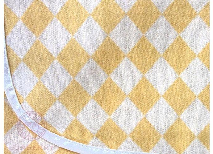 Детский плед Luxberry Lux 3313, 100х150 желтый