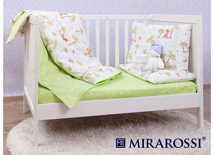 Детский постельное белье Mirarossi Giungla green