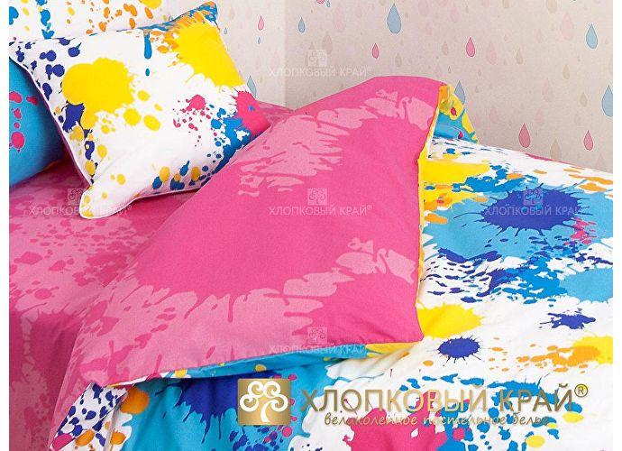 Постельное белье Хлопковый край Happy pink