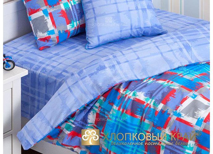 Постельное белье Хлопковый край Geometry blue