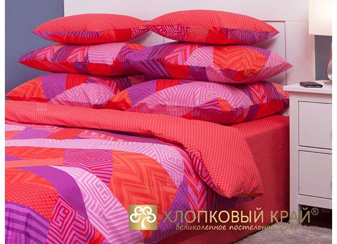 Постельное белье Хлопковый край Ньюкасл, красный
