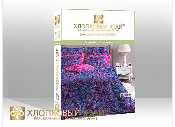 Постельное белье Хлопковый край Олимпос, фуксия