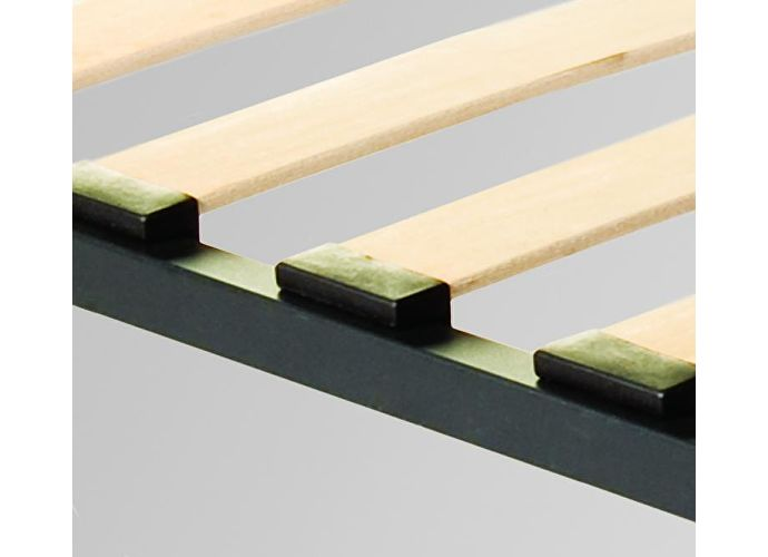 Основание Классик с широкими берёзовыми ламелями на металлокаркасе Л-68