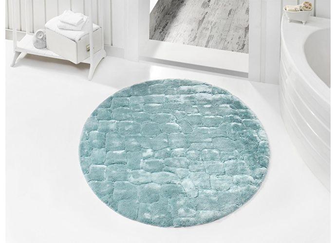 Круглый коврик Issimo Rocky, диаметр 120 см серый