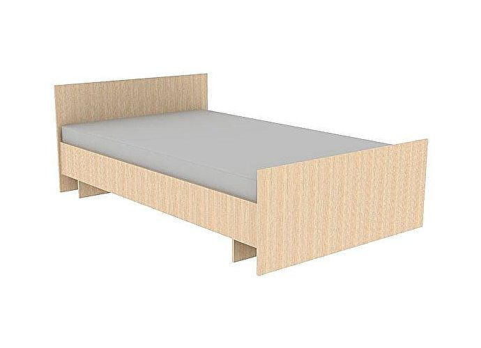 Кровать ГРОС Даша КРС-30  (90) без матраца дуб молочный