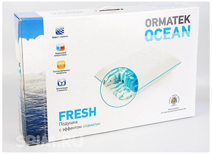 Подушка Орматек Ocean Fresh