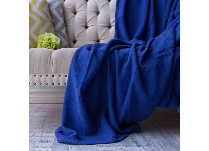 Покрывало Arloni Темно-синее