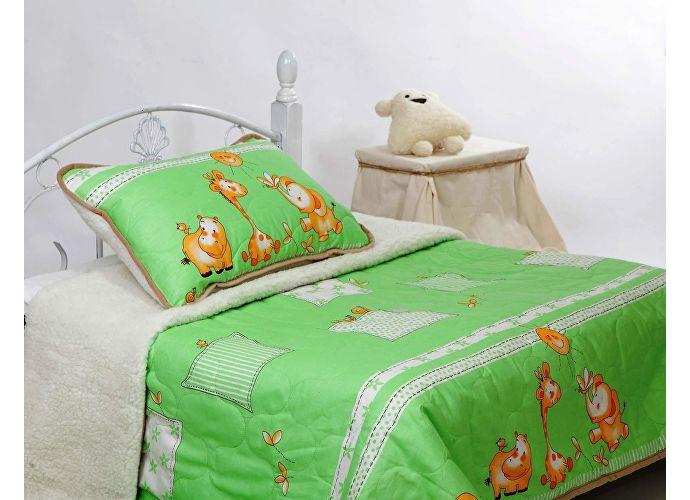 Одеяло Altro Kids Zoo 145х200 зеленый