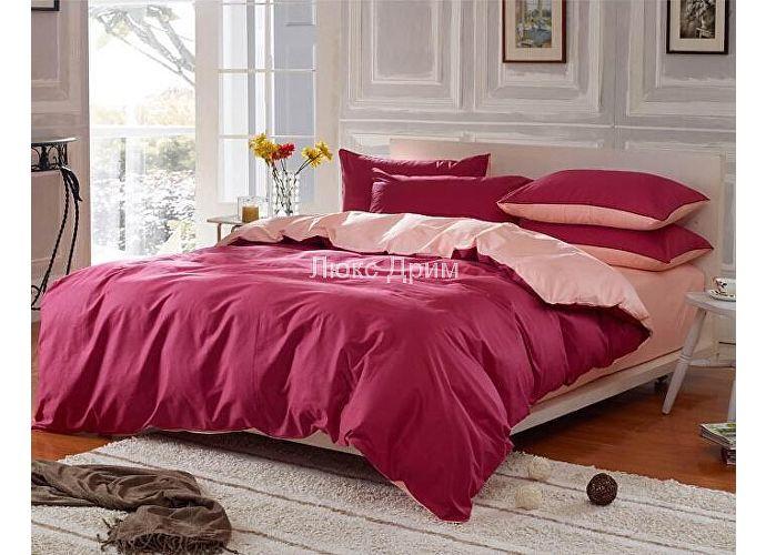 Комплект Luxe Dream Бордово-Кремовый