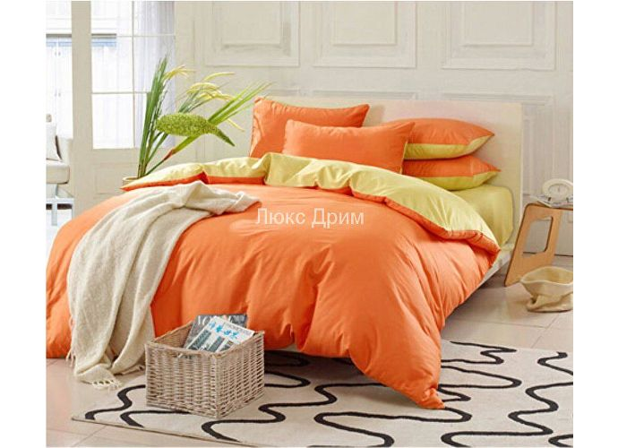 Комплект Luxe Dream Оранжево-Желтый
