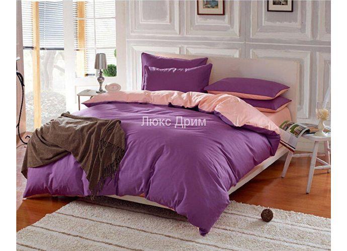 Комплект Luxe Dream Фиолетово-Кремовый