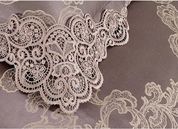 Постельное белье KAZANOV.A. Donna Mattina с покрывалом, cappucino