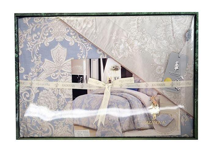 Постельное белье KAZANOV.A. Джоли, лаванда платина | SPIM.RU - Москва