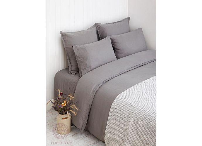 Постельное белье Luxberry Linen серый
