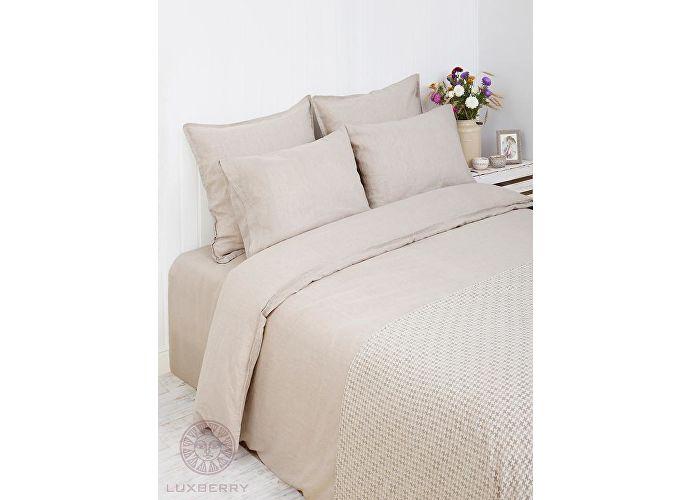 Постельное белье Luxberry Linen натуральный