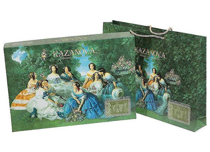 Постельное белье KAZANOV.A. Роза Лилиан, молочный/голубой