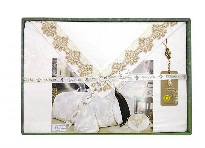 Постельное белье KAZANOV.A. Афродита, молочный