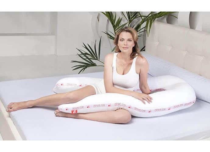Подушка Легкие сны Премиум, форма U