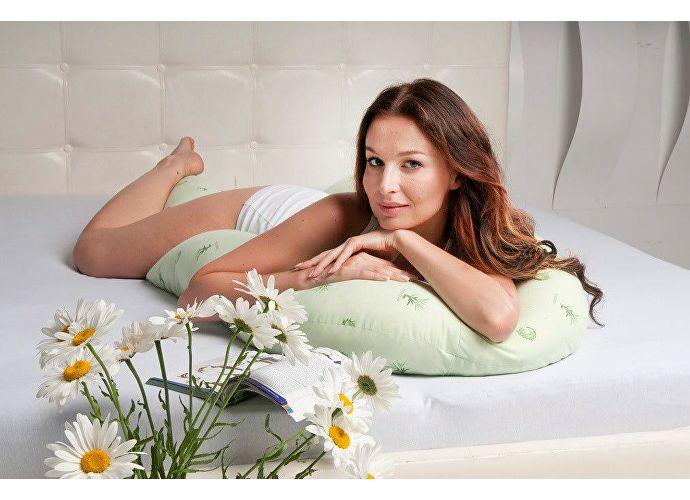 Подушка Легкие сны Био, форма U
