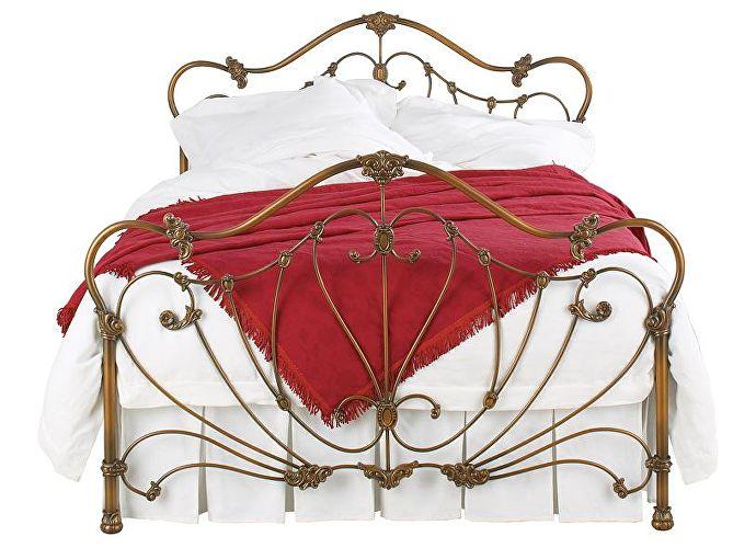 Кровать Волтон бронза в патине
