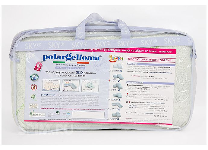 Подушка PolarGelfoam Baby