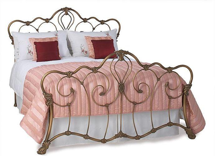 Кровать Ашалон бронза в патине